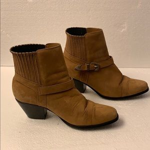 Dingo Country Western Leather Booties  (BB7862)